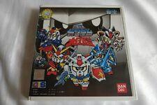 Sd Gundam Daizukan World Bandai Playdia Game Cd,Manual Boxed set tested-a97-