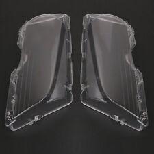 2Pcs HEADLIGHT COVER LENS Fit for 1999-03 BMW E46 2DR M3 01-06 Base Coupe 2 Door