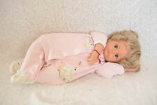 """21"""" Limited Edition Hildegard Gunzel GOTZ Baby Doll--Wears Real Baby Clothes!"""