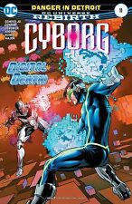 Cyborg #11 Comic Book 2017 - DC