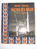 Vintage 1939 New York World's Fair Booklet w/ Black & White Pictures *