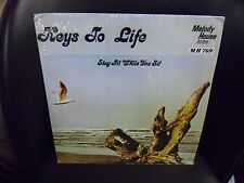 Keys To Life - Stay Fit While You Sit LP Melody House EX in shrink exercise