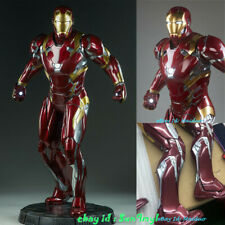 1/2 Scale Iron Man MK46 Statue Lighting Resin Model Collections Gifts 38''H
