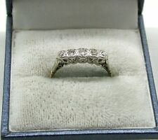 Vintage Lovely 18ct Gold Five Stone Diamond Ring
