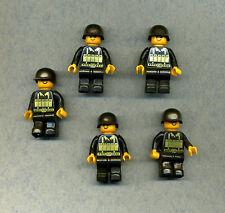 Figur-- Custom -- Militär -- Wehrmacht --Soldaten mit Stahlhelm -- 5 Stück --