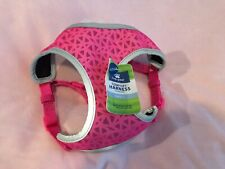 Top Paw Reflective Dog Harness. Pink. Size Small