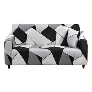 L Shaped Sectional Slip Covers Sectional Recliner Stretchable Elastic Sofa Cover