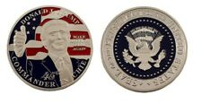 More details for president trump commemorative 45th commander chief encapsulated collector coin