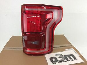 2015-2017 Ford F150 Right Hand Passenger Side radar BLIS Tail Lamp Light new OEM