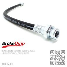 BRAKEQUIP BRAKE HOSE REAR CHASSIS to AXLE [HOLDEN EJ-EH UTE/VAN/SEDAN/WAGON]