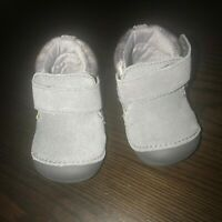 STRIDE RITE Boys SM OAKLEY Soft Motion Gray Boots SHOES Size US 3W