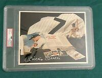 MICKEY MANTLE SIGNED 8X10 COLLAGE PHOTO PSA/DNA ENCAPSULATED YANKEES HOF