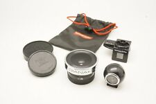 Lomography Used Diana F+ 20mm Fisheye Lens w/ Viewfinder and Viewfinder Adapter