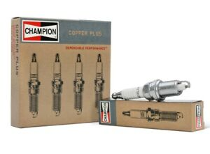 CHAMPION COPPER PLUS Spark Plugs UY6 842 Set of 4