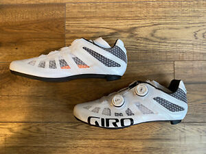 Brand New Boxed Giro Imperial 2020 Road Cycling Shoes White UK7