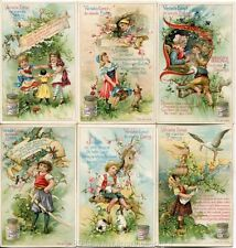 Chromo Liebig Sang. 571 FRA Rime Infantili IV ANNO 1898