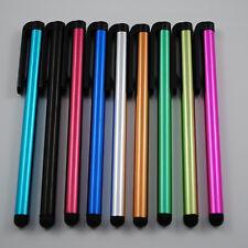 10X Kunststoff Bleistift Stylus Touch Screen Pen Kugelschreiber Handy Tablet FS