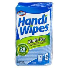 Handi Wip Multi-Use Reusable Cleaning Cloths, 72 Cloths