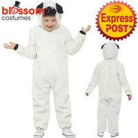 CK1014 Sheep Lamb Costume Child Farm Animal Fancy Boys Book Week Party Outfit