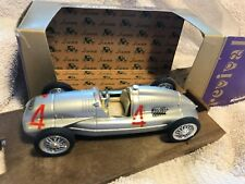 Brumm 1938 Auto Union Tipo D HP 420 w/Box & Case #R109 ORO Series  Made in Italy