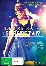 TAYLOR SWIFT SUPERSTAR DVD REGION 4 PAL NEW