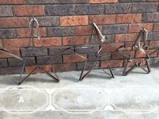 Star Christmas star Horse Shoe Christmas Decoration Metal Art Country Rustic