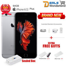 New Sealed Box Apple iPhone 6S Plus 64GB Mobile Phone Space Gray Unlocked