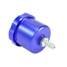 Alu Bremsflüssigkeitsbehälter Hydraulische Handbremse Aluminium Fly Off Blau