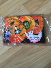 Vtg Lot of 6 Ambassador Happy Halloween Ghoul Boo Greeting Cards Hallmark Usa