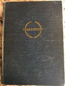 The Complete Plays and Poems of William Shakespeare, 1942 The Riverside Press