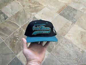 Vintage Sacramento Gold Miners CFL Starter Tailsweep Snapback Football Hat