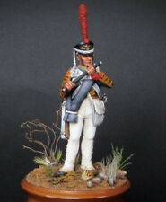 Tin soldier white metal Kit 54 mm. Flute player of the Guards Infantry Regiments