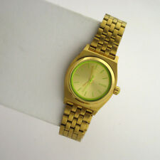 NIXON Small Time Teller A399-1618 Stanless Link Band Analog Quartz Ladies Watch