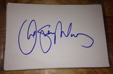 CHESNEY HAWKES SIGNED 6X4 WHITE CARD MUSIC AUTOGRAPH & MASTERCHEF 100% GENUINE