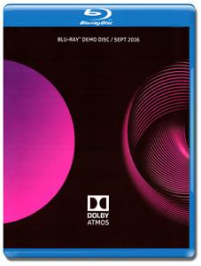 Dolby Atmos Demo Disc 2016 Blu-Ray