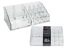 Large Cosmetic Organizer Drawers Clear Acrylic Jewelry Storage Case Box Makeup
