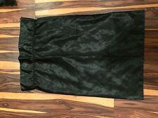 Victoria's Secret Satin Sheet Set, Excellent Condition, Black, Full Size