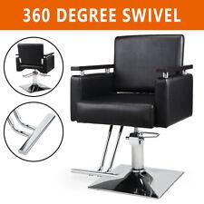 Black Classic Hydraulic Barber Chair Salon Beauty Spa Shampoo Equipment