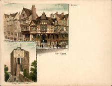 Chester Court Size Postcard # 1260. The Rows 7 King Charles Tower.