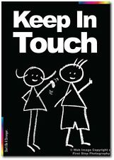 Keep In Touch Card - Chalks Designer Range - CK020