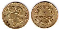 C1 5 Francs LAVRILLIER Bronze Alu 1946 C SUP