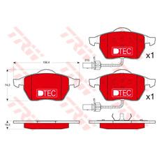 Bremsbelagsatz Scheibenbremse DTEC COTEC - TRW GDB1307DTE