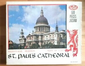 Vintage Philmar Heritage Series St. Paul's Cathedral 500 pieces Jigsaw Puzzle