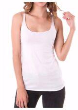 Women Tank Top T-Shirt Loose Fit Racerback Sleeveless Tops Fashion Gym Yoga USA