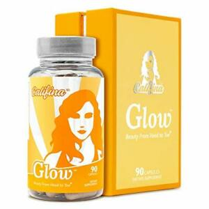 GLOW by Califina - Expires 11/2020 PRICED TO SELL Hair Skin & Nails Vitamin &...