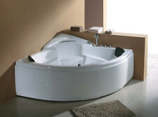 Corner JETTED BATHTUB ,Whirlpool & Air Bubble & Massage,Heater.US Warranty.Sale