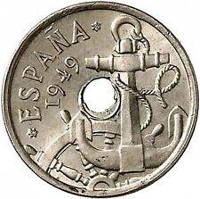 ESPAÑA 50 Centimos 1949 *19* *62* S/C Franco (Estado Español)