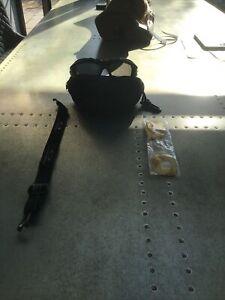 Mens Oakley Sunglasses With Case + Head Strap