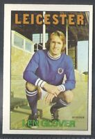 LEICESTER CITY PETER SHILTON A/&BC-FOOTBALL 1972 ORANGE//RED BACK-#080