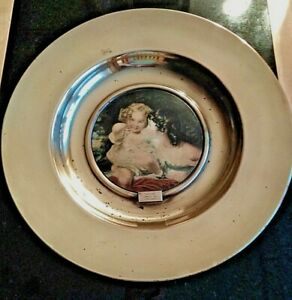 "Trafford Plaque Series  1 Old Masters  ""Nature"" 42cm Dia. Damage as shown  (Lf)"